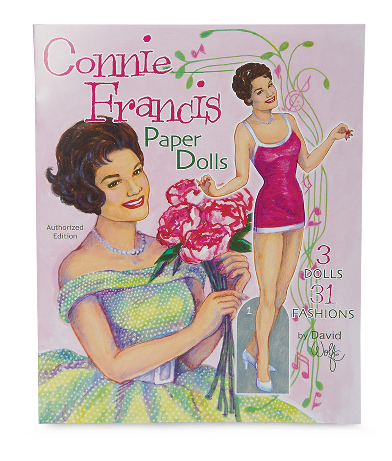 Connie Francis Paper Doll Book