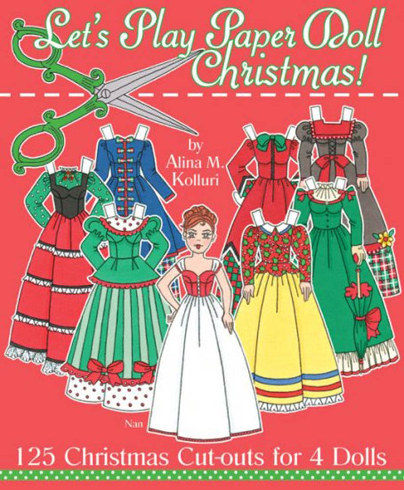 Let's Play Christmas Paper Doll Book