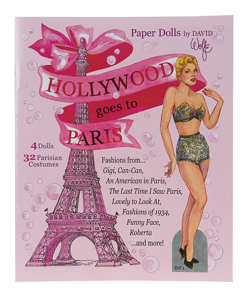 Hollywood Goes to Paris Paper Doll