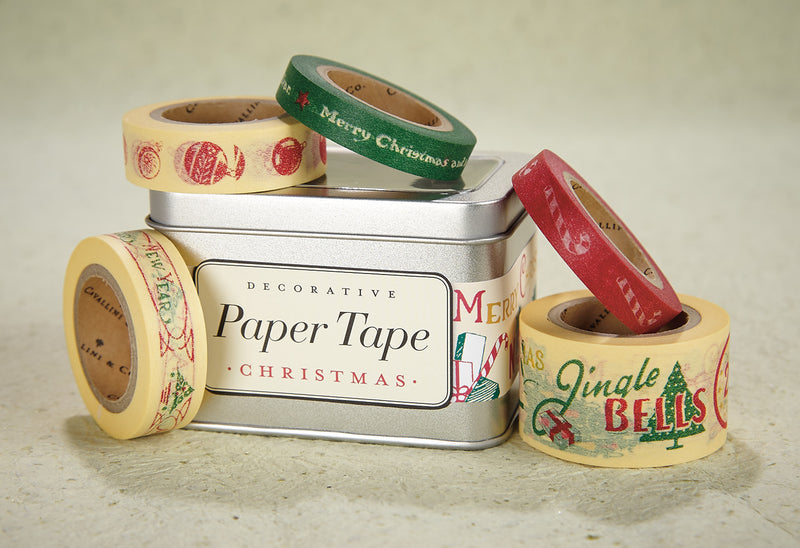 Vintage Christmas Decorative Tape