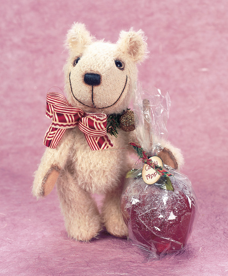 Candy Apple Teddy Bear By Jared Monroe