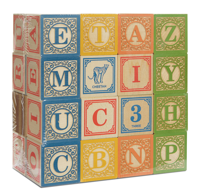 UPPERCASE Letter Blocks