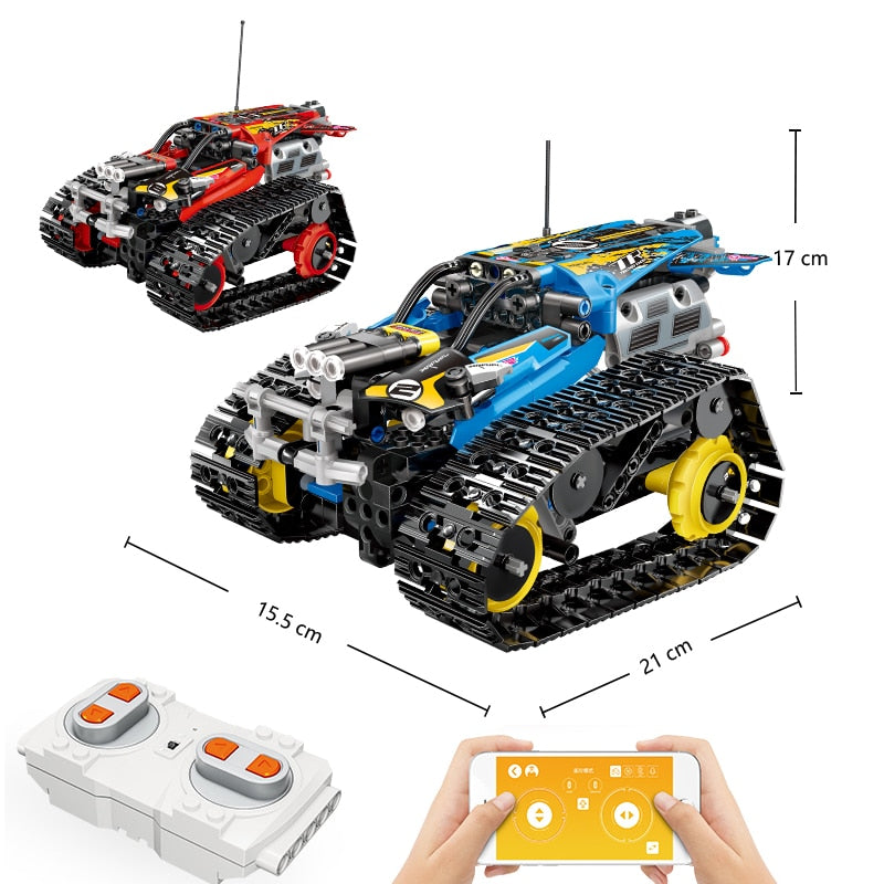 KING Building Blocks 391 RC Stunt Racer - Best Tech & Toys