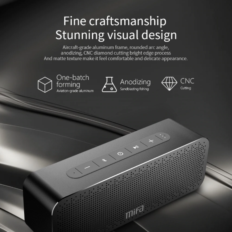 MIFA A20 Black Portable Speaker - Best Tech & Toys