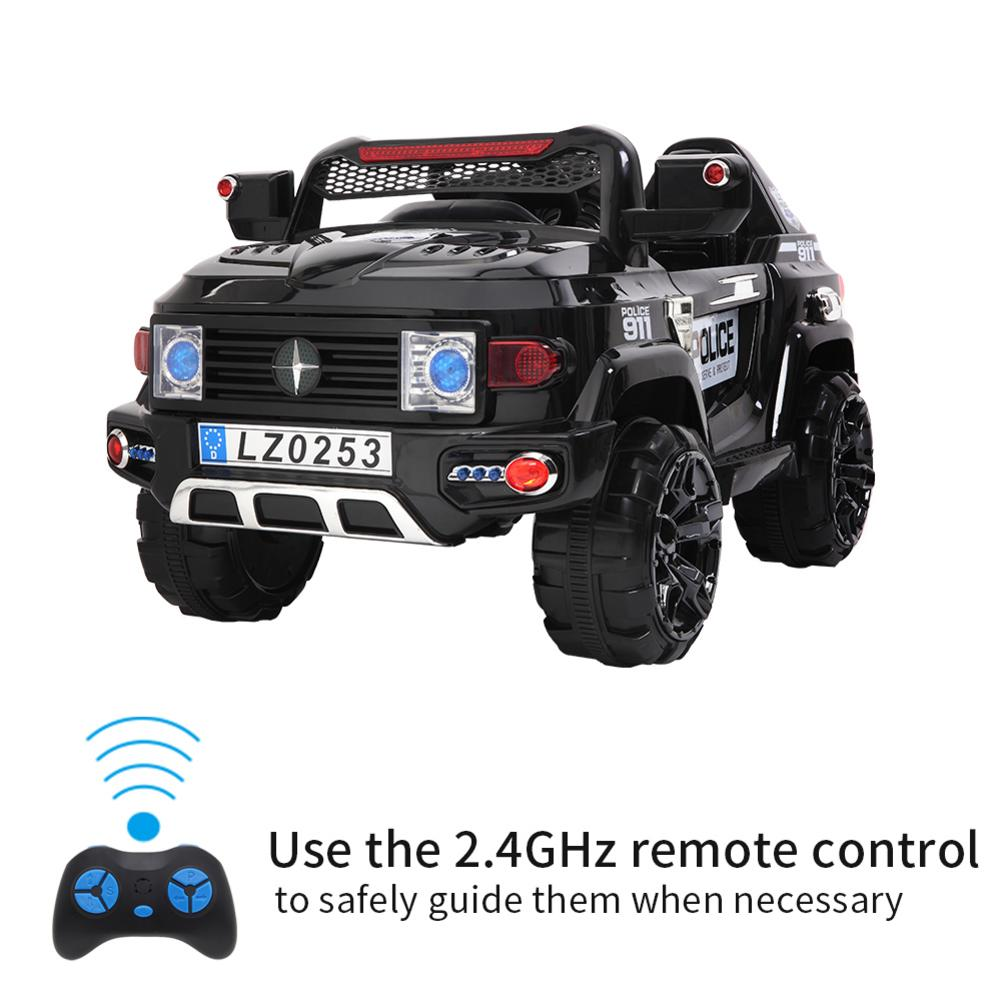 MODEE Police SUV Ride On with Remote Control - Best Tech & Toys