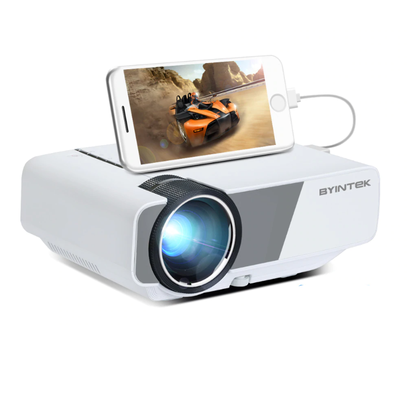 BYINTEK 480p 160 ANSI Lumens Portable HD Projector - Best Tech & Toys