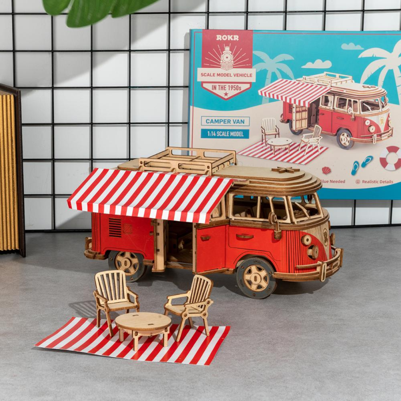 RT Camper Van Model - Best Tech & Toys