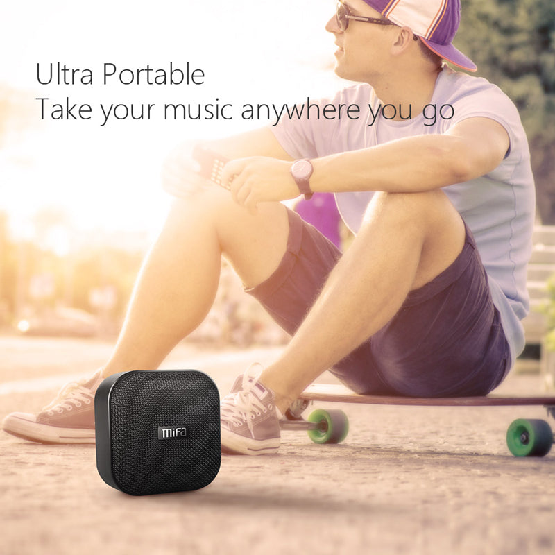 MIFA A1 Black Mini Water & Dust Resistant Speaker - Best Tech & Toys