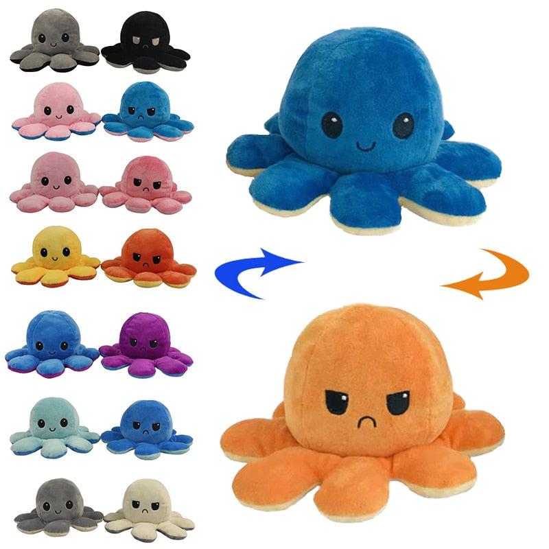Reversible Flip Octopus Plushie - Best Tech & Toys