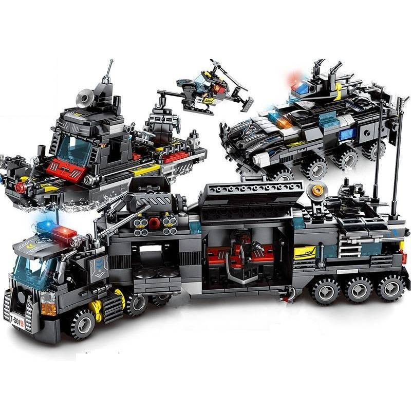 KING Police Building Blocks - Best Tech & Toys