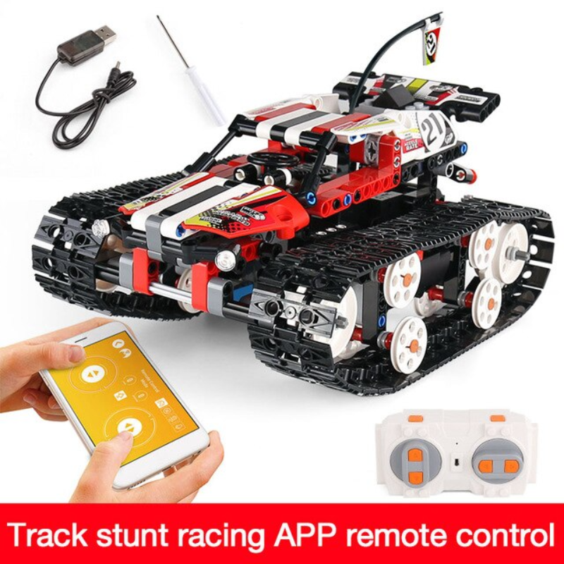 KING Building Blocks 410 RC Stunt Racer - Best Tech & Toys