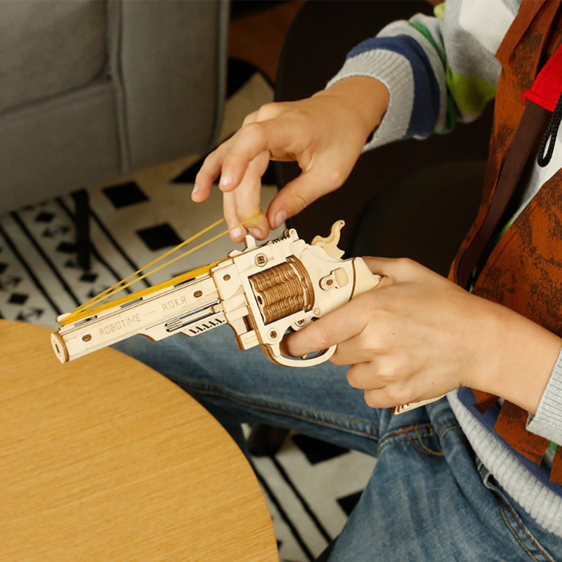 RT 3D Wooden Gun Model - Best Tech & Toys