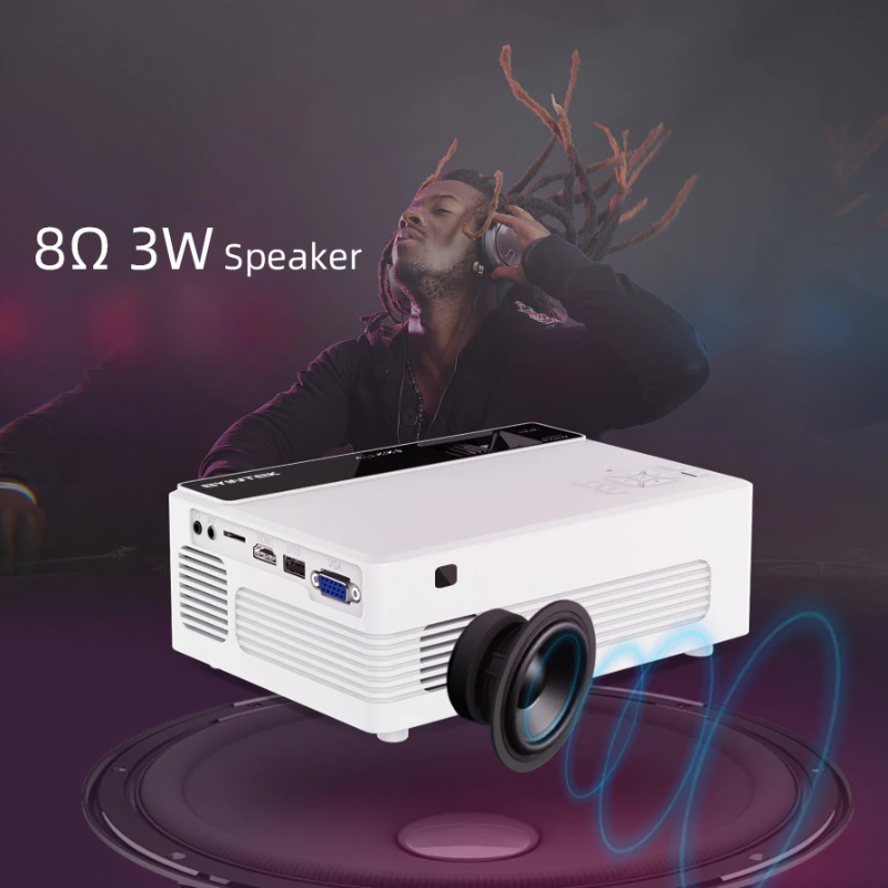BYINTEK 480p 140 ANSI Lumens Portable HD Projector - Best Tech & Toys