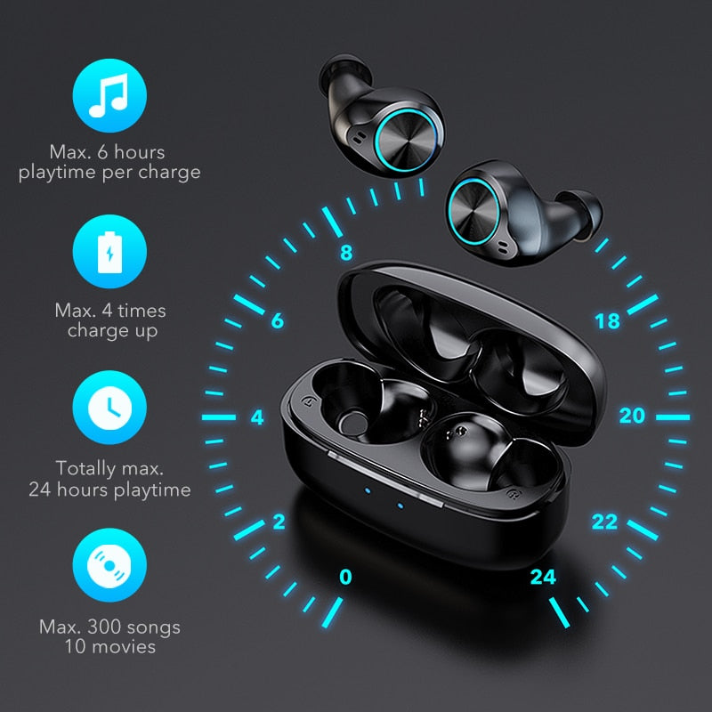 MIFA X5 True Wireless Stereo Noise Canceling Earbuds - Best Tech & Toys