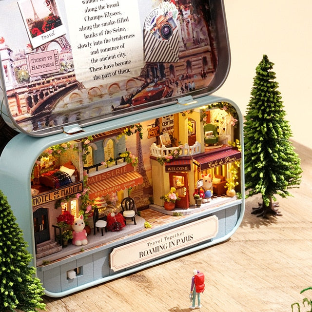 ADLEY Tin-Case Mini Doll House - Best Tech & Toys