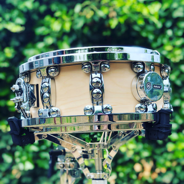 dialtune snare drum on stand
