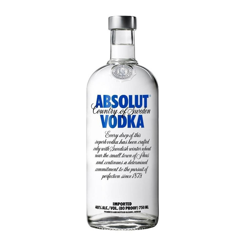 Vodka Absolut Blue de 750ml. - Super Boomerang