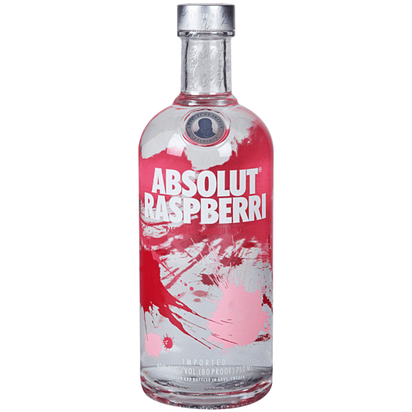 Vodka Absolut Raspberri de 750ml.