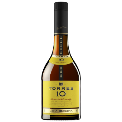Brandy Torres 10 de 700ml. - Super Boomerang