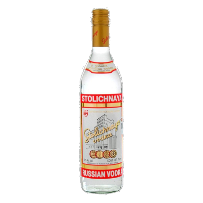 Vodka Stolichnaya de 750ml. - Super Boomerang