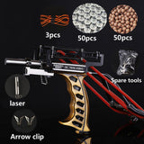 2019 Laser Slingshot G5 Hunting Accessories Fishing Slingshot Shooting Catapult Bow Arrow Rest Bow Powerful Sling Shot Crossbow