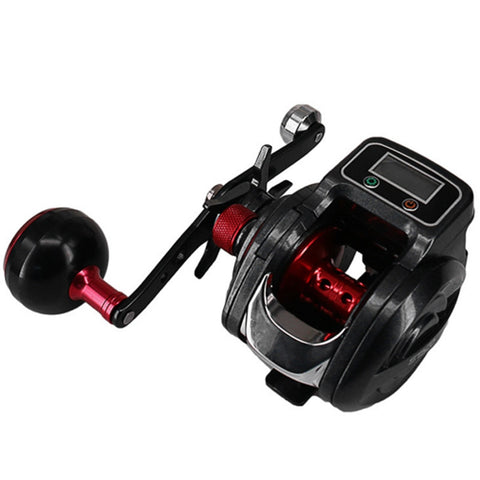 NEW 16+1 Ball Bearing 6.3:1 Left/Right Baitcasting Fishing Reel with Digital Display Bait Casting Wheel