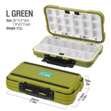 Large Capacity 24/28 Grid Fishing Gear Accessories Waterproof sub-Box Fishing Hook Supplies Tool Storage Box Fishing Tackle box