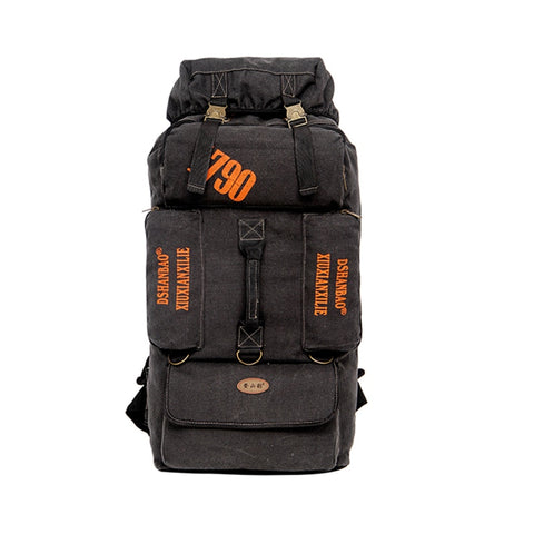 80L Tactical Backpack Outdoor Sports Rucksack Mountaineering Backpack Camping Hiking Climbing Luggage Bag Travel Back Pack