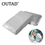 OUTAD Cold-proof Military First Aid Emergency Blanket Survival Rescue Curtain Outdoor Life-saving Tent Reusable Sleeping Bag