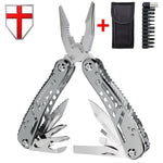 EDC Multitool with Mini Tools Knife Pliers Swiss Army Knife and Multi-tool kit for outdoor camping equipment