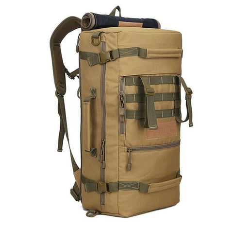 Hot A++ 50L Military Tactical Backpack Hiking Camping Daypack Shoulder Bag Men's hiking Rucksack back pack mochila feminina