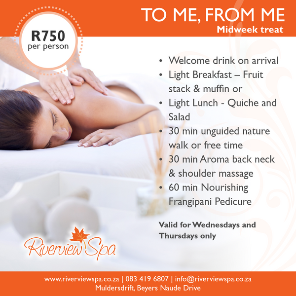 Specials at the Spa