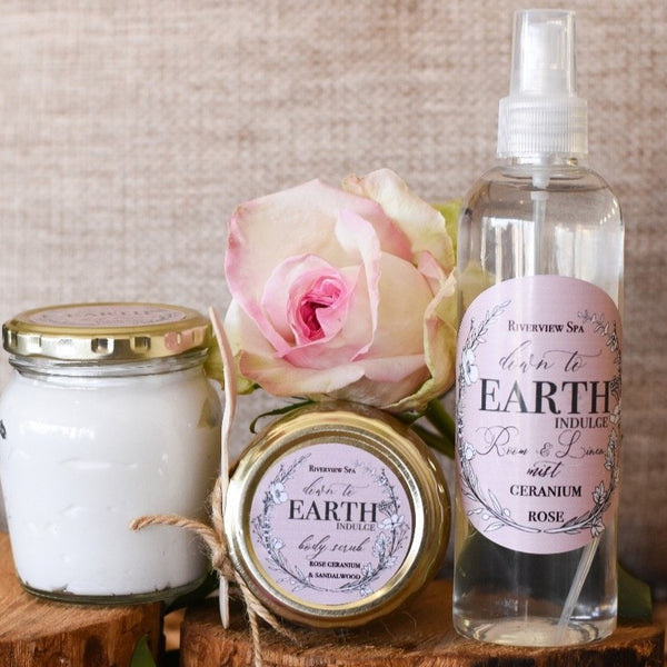 Relaxing Rose Geranium Set