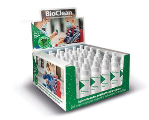 Bio Clean 50ml Igienizzante Antibatterico Spray