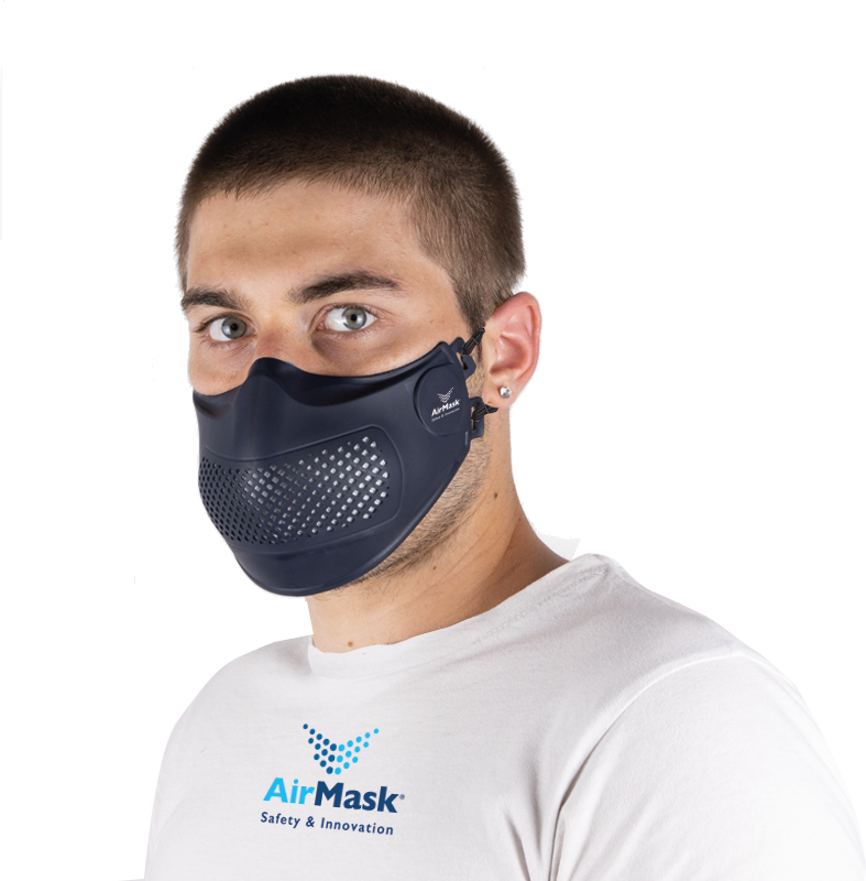 AirMask® PRO Navy Blue
