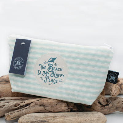 The Sea Shed - The beach is my happy place - Cosmetic Bag