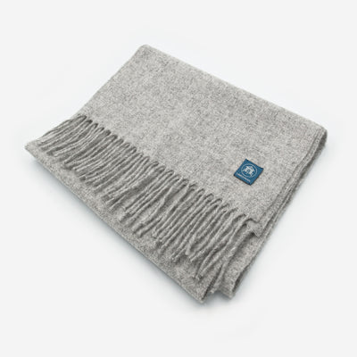 The Sea Shed Lambswool Scarf - Mizzle