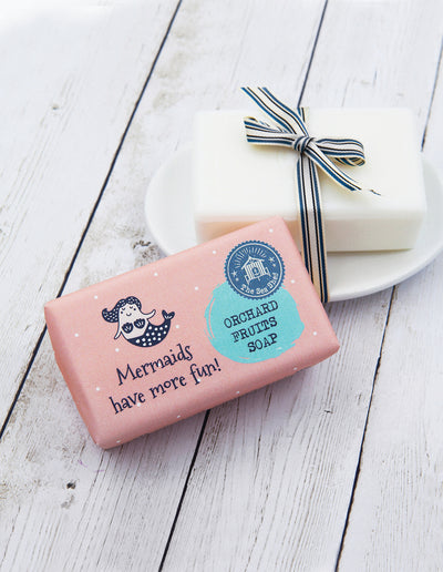 Orchard Fruit Soap 190g Mermaids have more fun