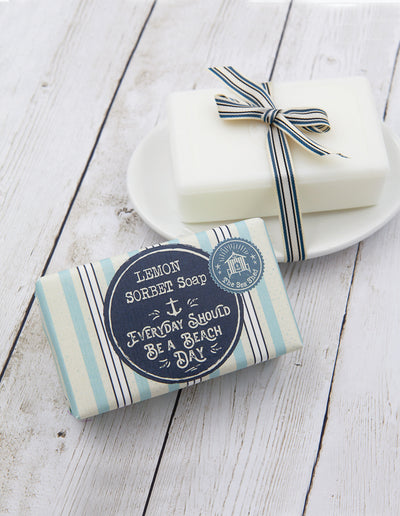 Lemon Sorbet Soap 190g Everyday should be a beach day