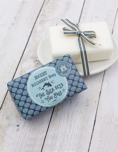 Sweet Mulberry Soap 190g, The sea sets you free
