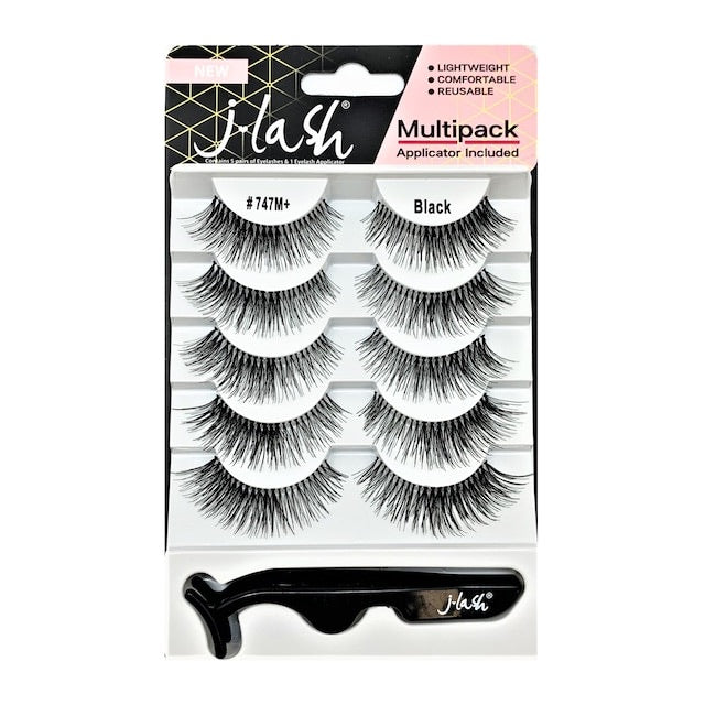 Multi Pack de 5 pestañas JLASH #747M