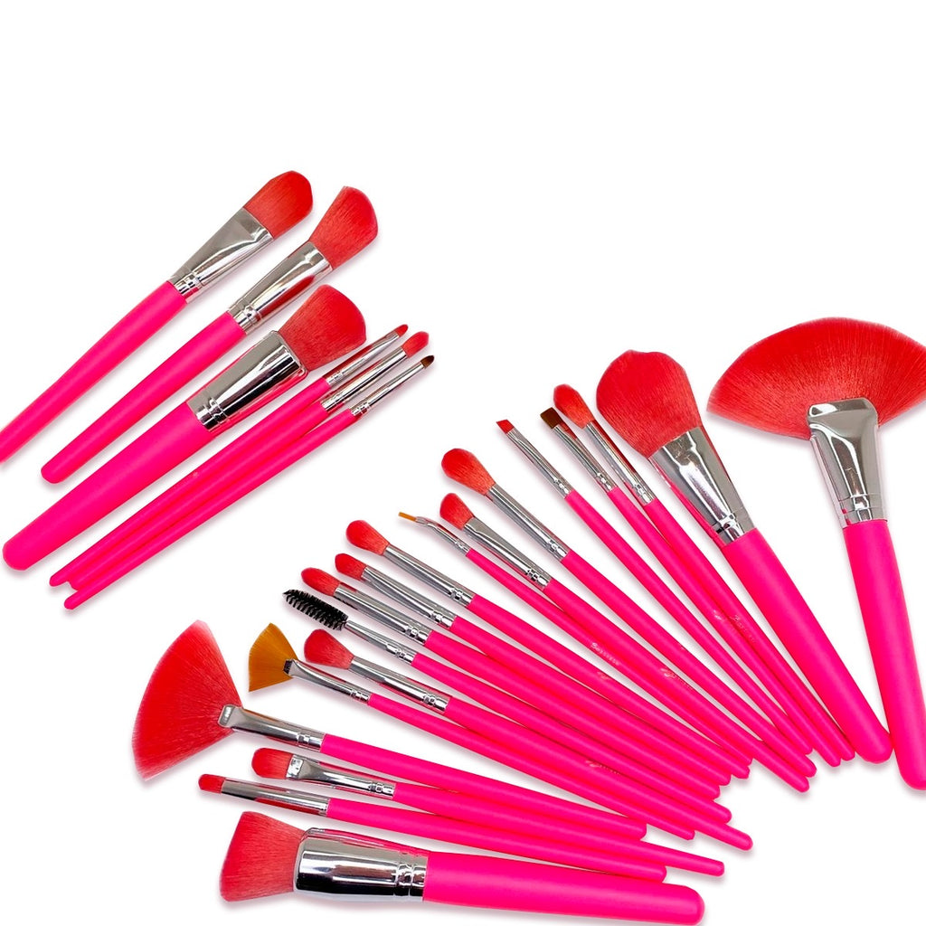 Bonbom Neón Rosada 24PC Brush Set