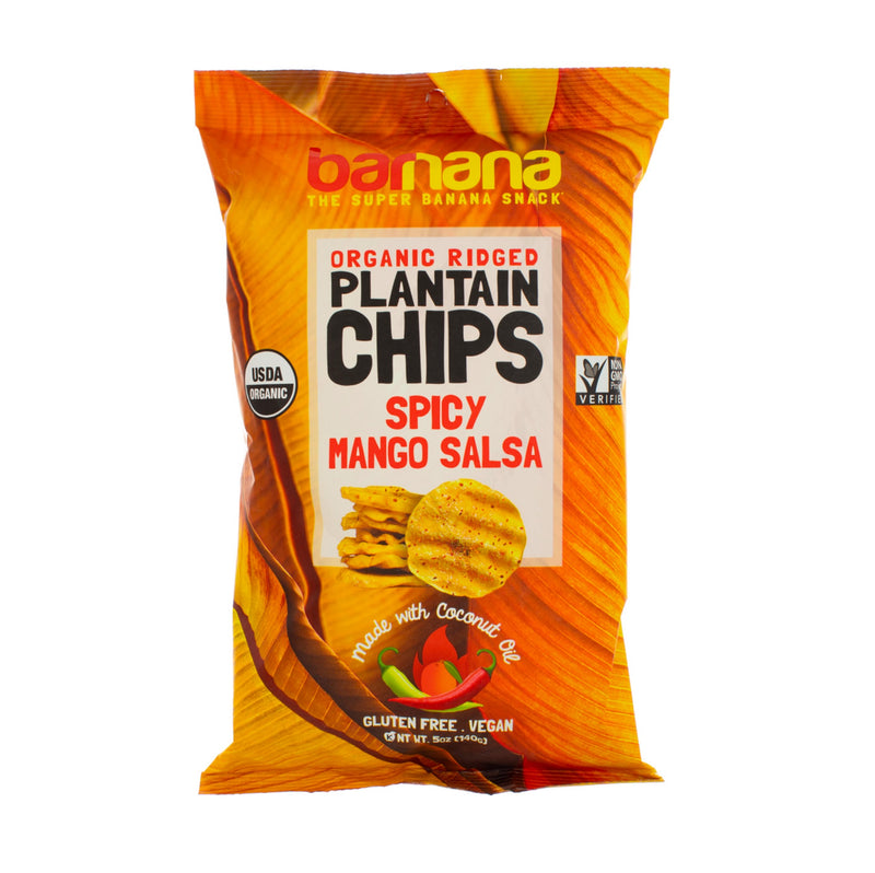 Barnana - Plantain Chips, Spicy Mango Salsa