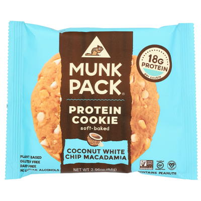 Munk Pack - Protein Cookie, Coconut White Chip Macadamia