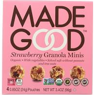 MadeGood Foods - Granola Minis, Strawberry