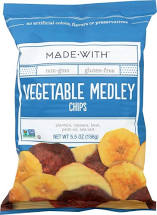 MadeWith Foods - Vegetable Medley Chips
