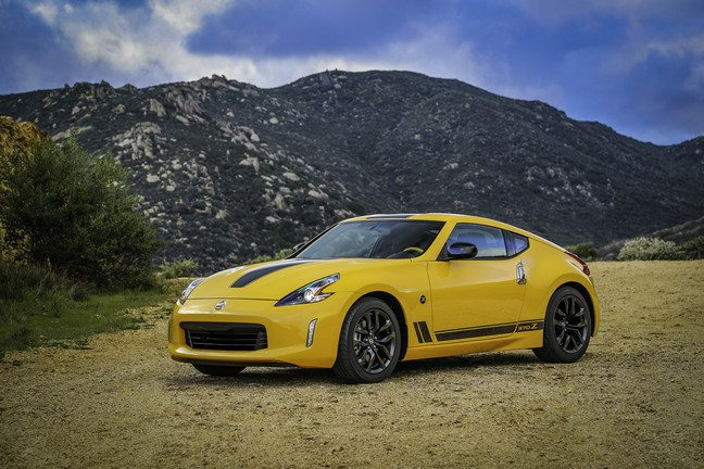 "Nissan Announces 2018 370Z ""Heritage"" Edition"