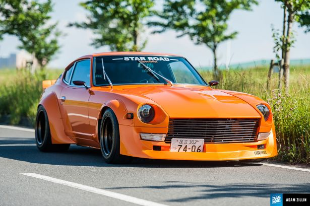 "Rising Sun: Star Road's ""Sunkist"" S30Z Masterpiece"