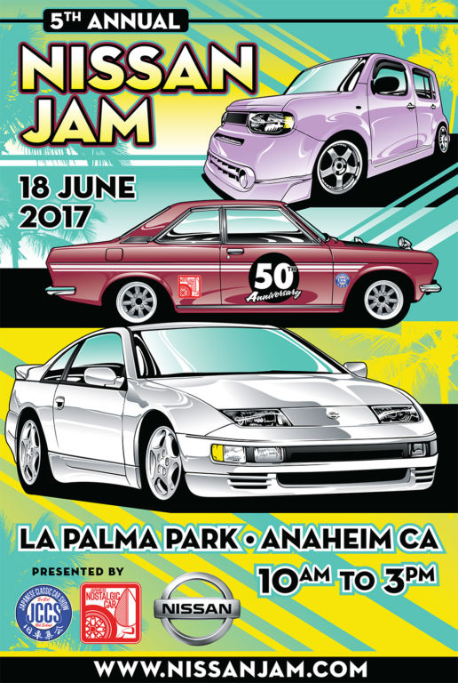 Nissan Jam 2017 will honor 50 years of the Datsun 510