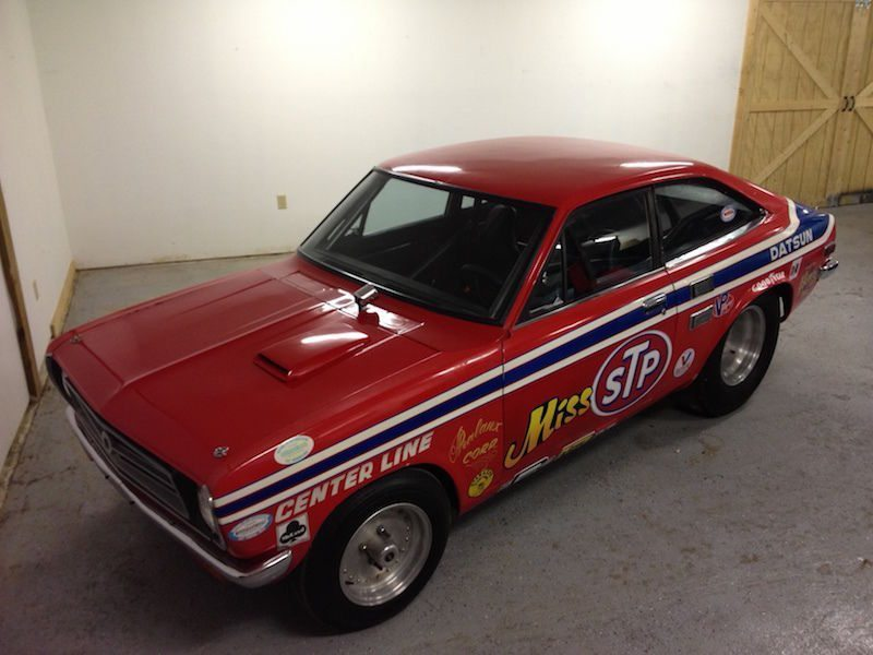 This 1971 Datsun 1200 Was Raced By The Legendary Paula Murphy And It Is Still Ready To Hit The Strip